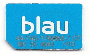 Blau Sim Kartennummer.Blau Sim Karte Onlinebieb