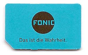 fonic karte kaufen FONIC – Prepaid Wiki